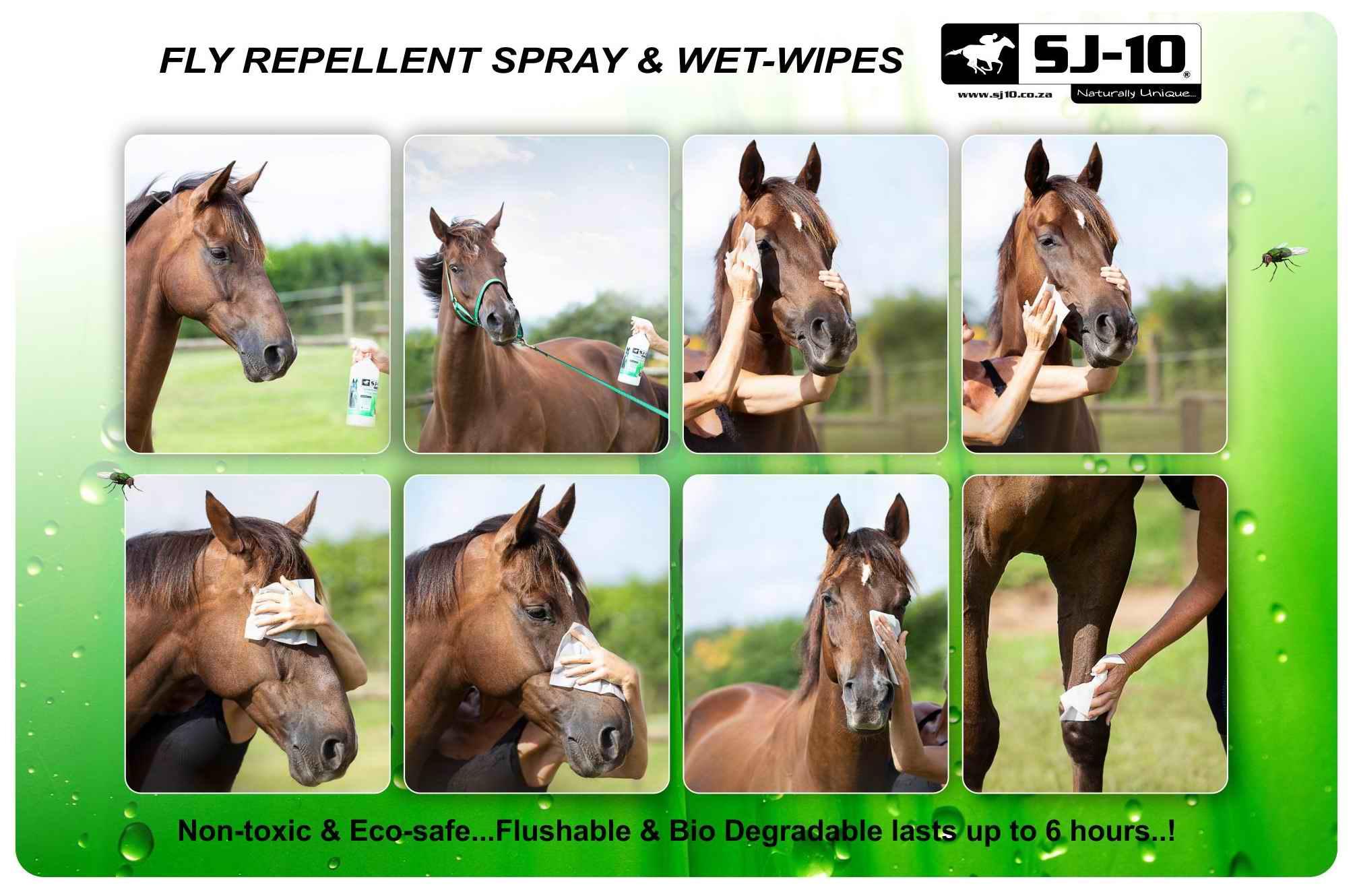 SJ-10 Fly repellent wet-wipes